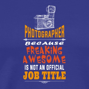 Photography quotes t-shirt design - Men's Premium T-Shirt