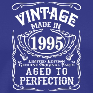 Vintage Made in 1995 Genuine Original Parts - Men's Premium T-Shirt