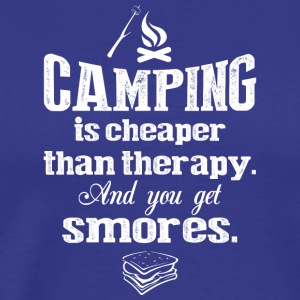 Camping Is Cheaper T Shirt - Men's Premium T-Shirt