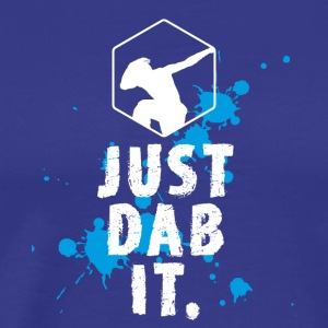 dab just dab it dabbing Football touchdown Panda - Men's Premium T-Shirt