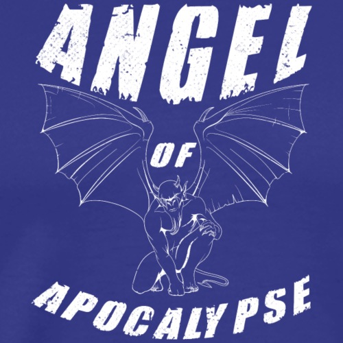 ANGEL of apocalypse white - Men's Premium T-Shirt