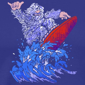 Surfin Yeti - Men's Premium T-Shirt