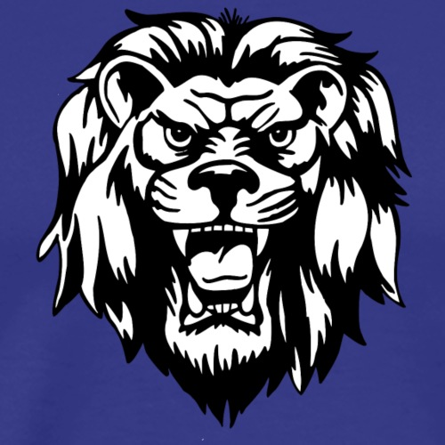 Fierce Lion - Men's Premium T-Shirt