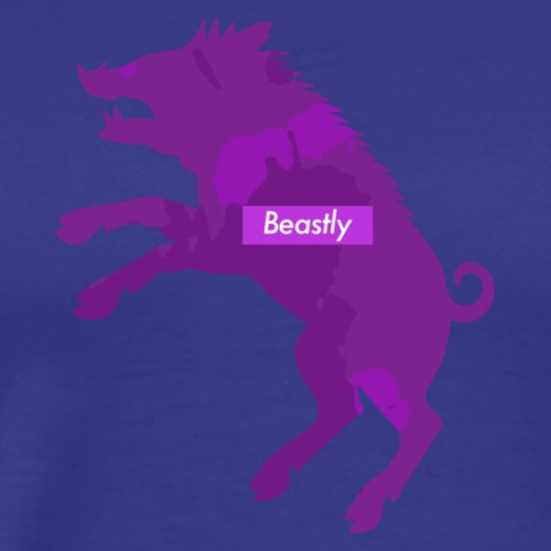Mrs Beastly - Men's Premium T-Shirt