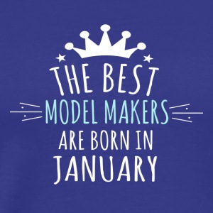 Be MODEL_MAKERS are born in january - Men's Premium T-Shirt