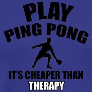 ping pong design - Men's Premium T-Shirt