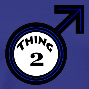 thing 2 male - Men's Premium T-Shirt