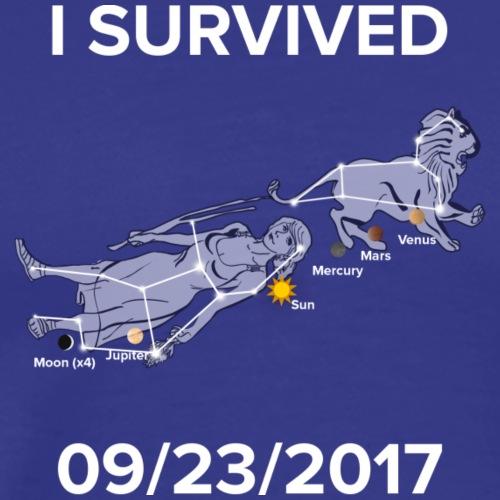 I Survived 09/23/2017 - Men's Premium T-Shirt