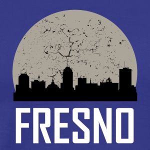 Fresno Full Moon Skyline - Men's Premium T-Shirt