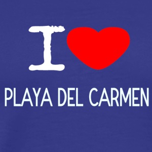 I LOVE PLAYA DEL CARMEN - Men's Premium T-Shirt