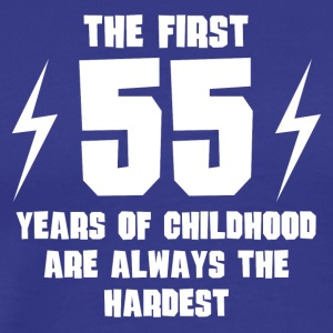 The First 55 Years Of Childhood - Men's Premium T-Shirt