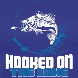 Hooked on the Lake - Men's Premium T-Shirt