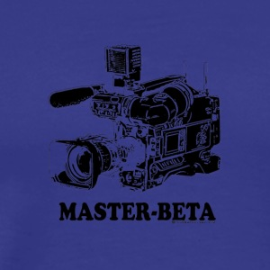 Funny Master Beta Filmmaking (For Light Colors) - Men's Premium T-Shirt