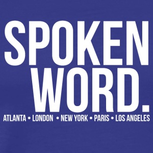 SpokenWord - Men's Premium T-Shirt