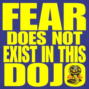 Fear Does Not Exist in this Dojo - Men's Premium T-Shirt