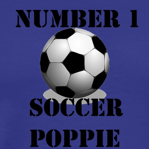 Soccer Poppie - Men's Premium T-Shirt