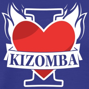 I_love_kizomba_fire - Men's Premium T-Shirt