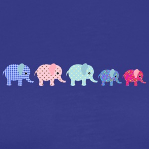 Elephant Familiy - Men's Premium T-Shirt
