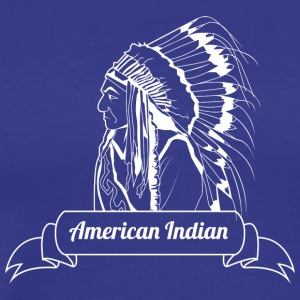 american_indian_white - Men's Premium T-Shirt