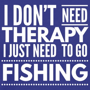 Fishing Therapy - Men's Premium T-Shirt