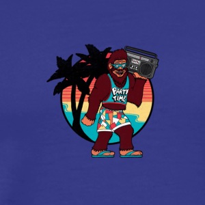 Bigfoot on Vacation - Men's Premium T-Shirt