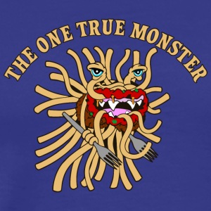 the one true monster WITH FORKS - Men's Premium T-Shirt