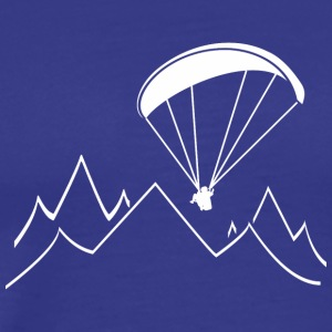 paragliding mountain - Men's Premium T-Shirt