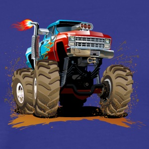 large Jeep SUV Monster Truck - Men's Premium T-Shirt