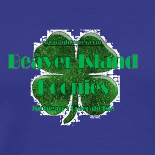 Boonies Shamrock Michigan's Emerald Isle - Men's Premium T-Shirt