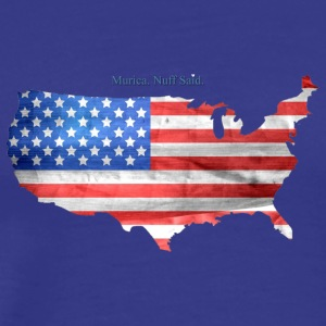 Murica, nuff said - Men's Premium T-Shirt