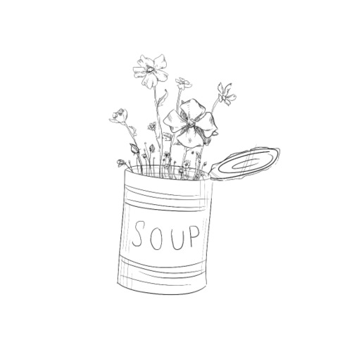 Soup. - Men's Premium T-Shirt