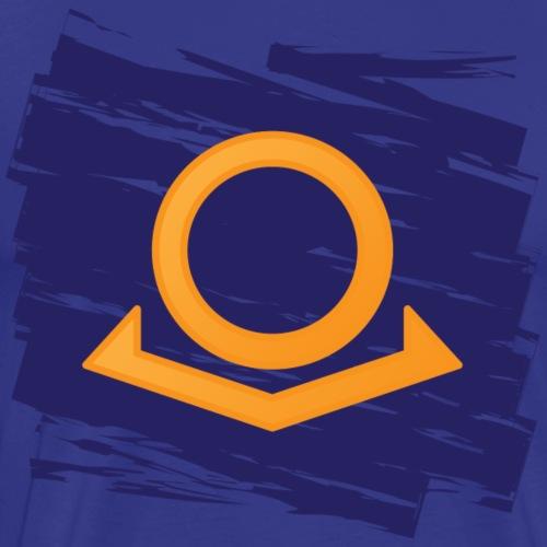 Omega Brand Grunge Logo - Men's Premium T-Shirt