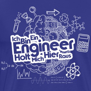 ICH BIN EIN ENGINEER - Men's Premium T-Shirt