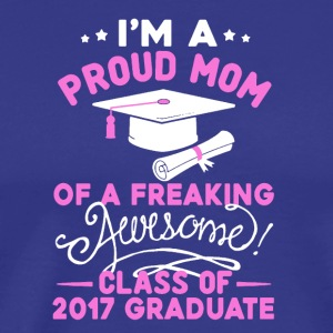 Mom Of An Awesome Graduate Tee Shirt - Men's Premium T-Shirt
