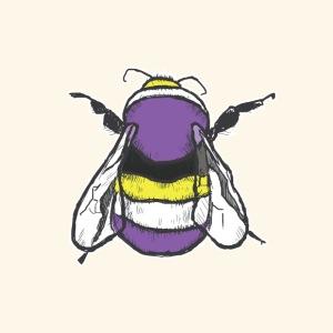 Non-binary Bee - Men's Premium T-Shirt