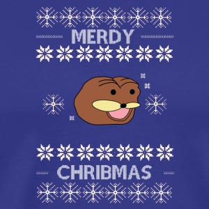 Spurdo spärde (benis meme) Ugly christmas sweater - Men's Premium T-Shirt