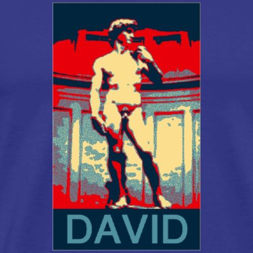 Vote for David - Men's Premium T-Shirt