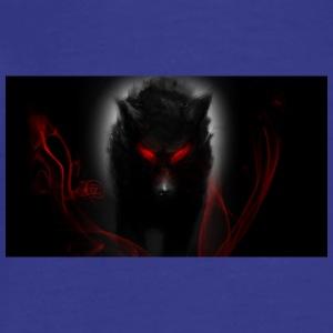 Wolf__s_Darkness_Madness_by_hikari_no_devil_zpsfa1 - Men's Premium T-Shirt