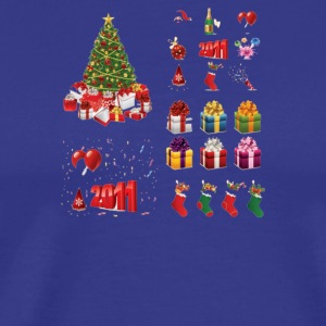 Christmas Elements 9 - Men's Premium T-Shirt