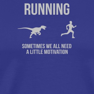 Running Motivation Raptor - Men's Premium T-Shirt