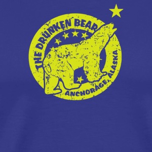 The Drunken Bear Bar - Men's Premium T-Shirt