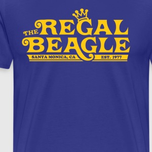 Regal Beagle - Three's Company T-Shirt - Men's Premium T-Shirt