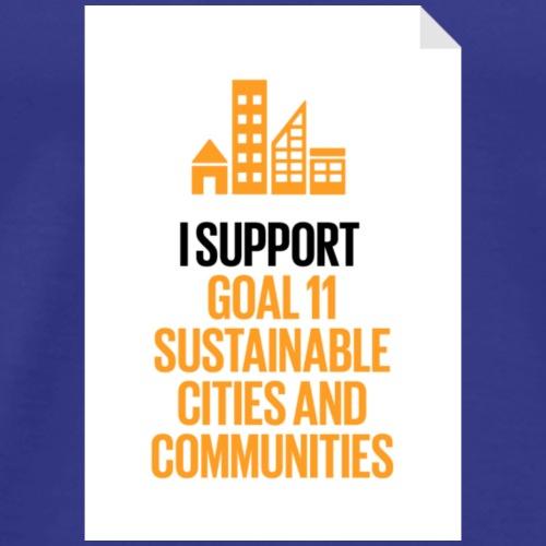 goal 11 sustainable cities and communities - Men's Premium T-Shirt