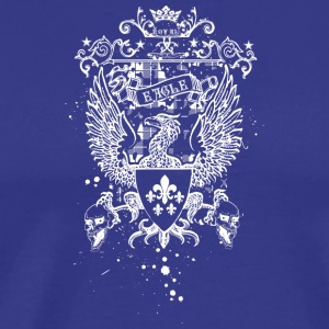 royal_eagle_white - Men's Premium T-Shirt