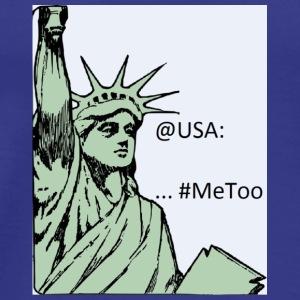 Statue of Liberty #MeToo - Men's Premium T-Shirt