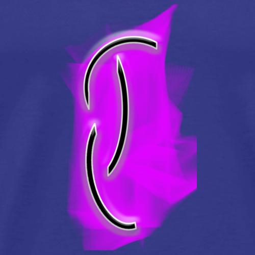 Team quasar logo Pink - Men's Premium T-Shirt