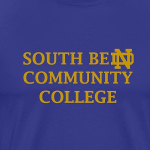 Notre Dame Community College - Men's Premium T-Shirt