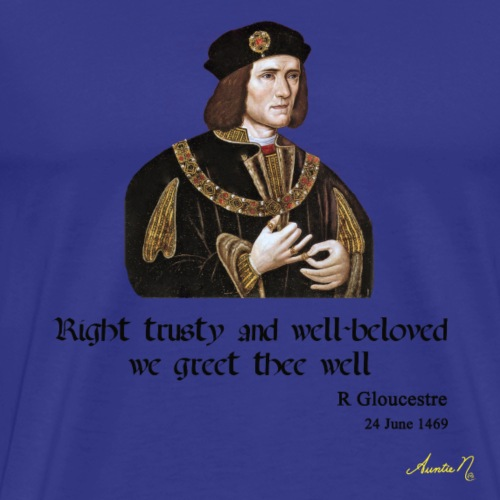 0207 Right trusty and well beloved - Men's Premium T-Shirt