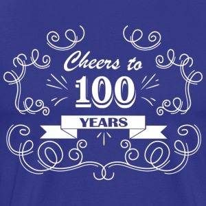 Cheers to 100 years - Men's Premium T-Shirt