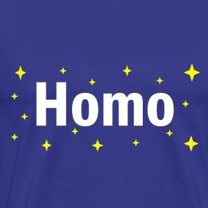 homo stars - Men's Premium T-Shirt